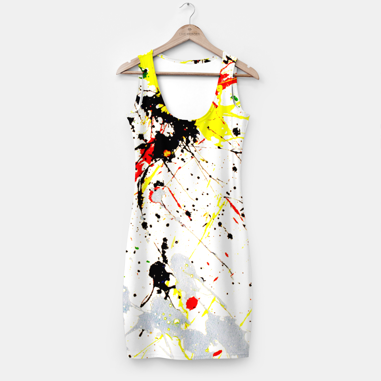 Image of Paint Splatter Simple Dress - Live Heroes