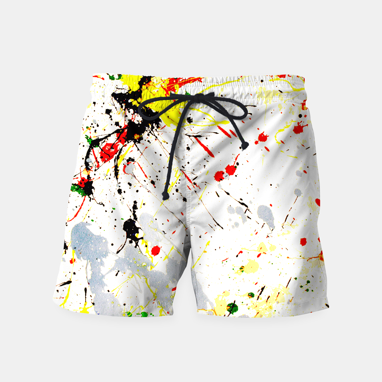 Image of Paint Splatter Swim Shorts - Live Heroes