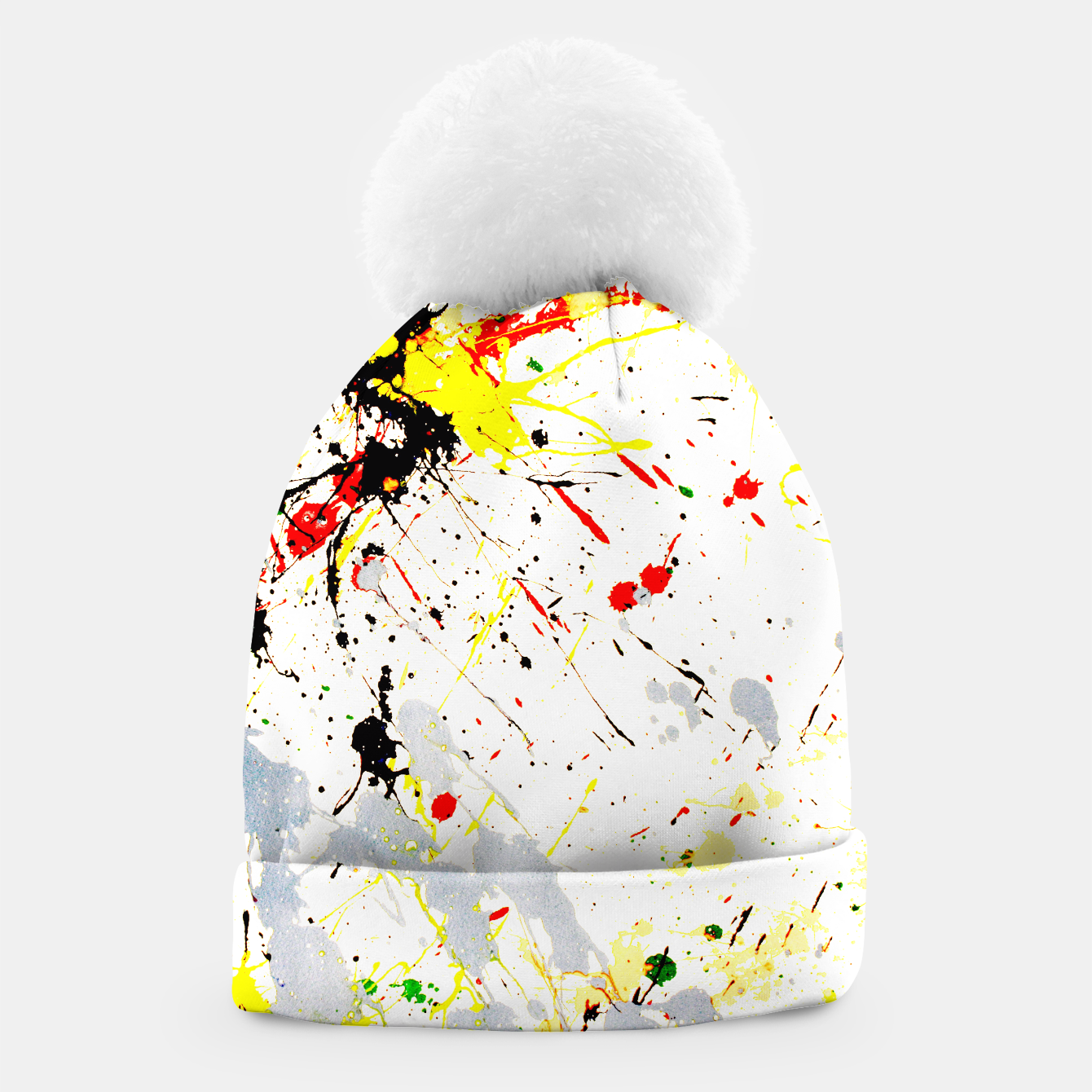 Image of Paint Splatter Beanie - Live Heroes