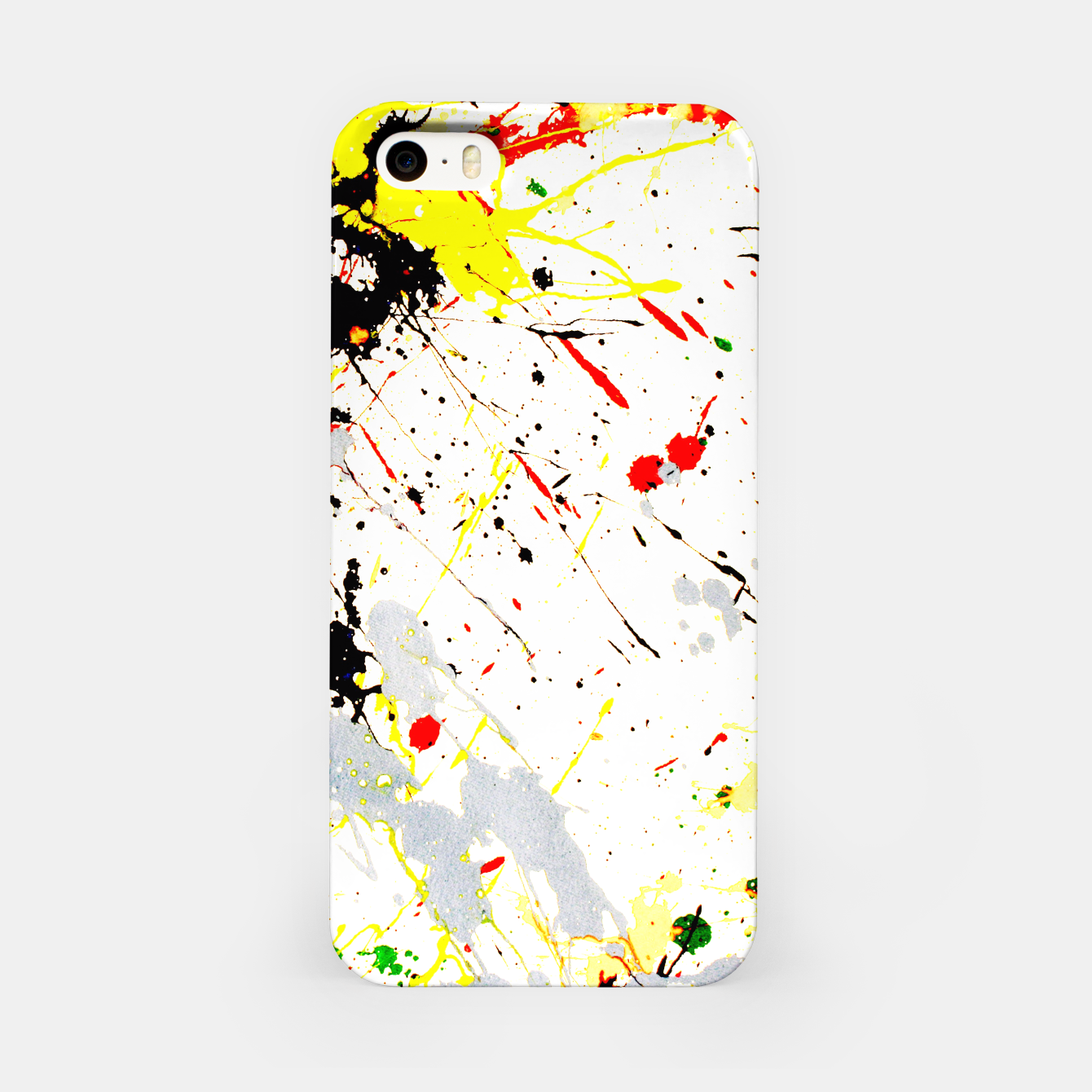 Image of Paint Splatter iPhone Case - Live Heroes