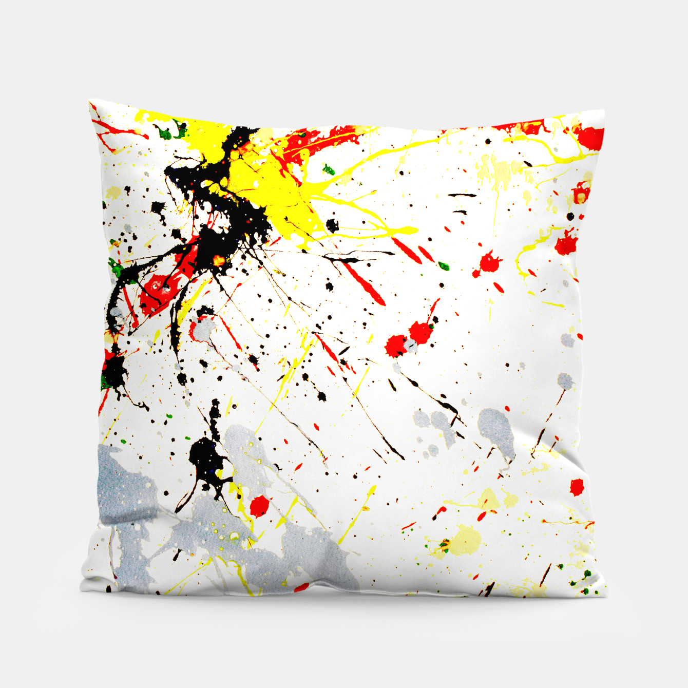 Image of Paint Splatter Pillow - Live Heroes