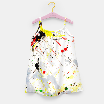 Paint Splatter Girl's Dress thumbnail image