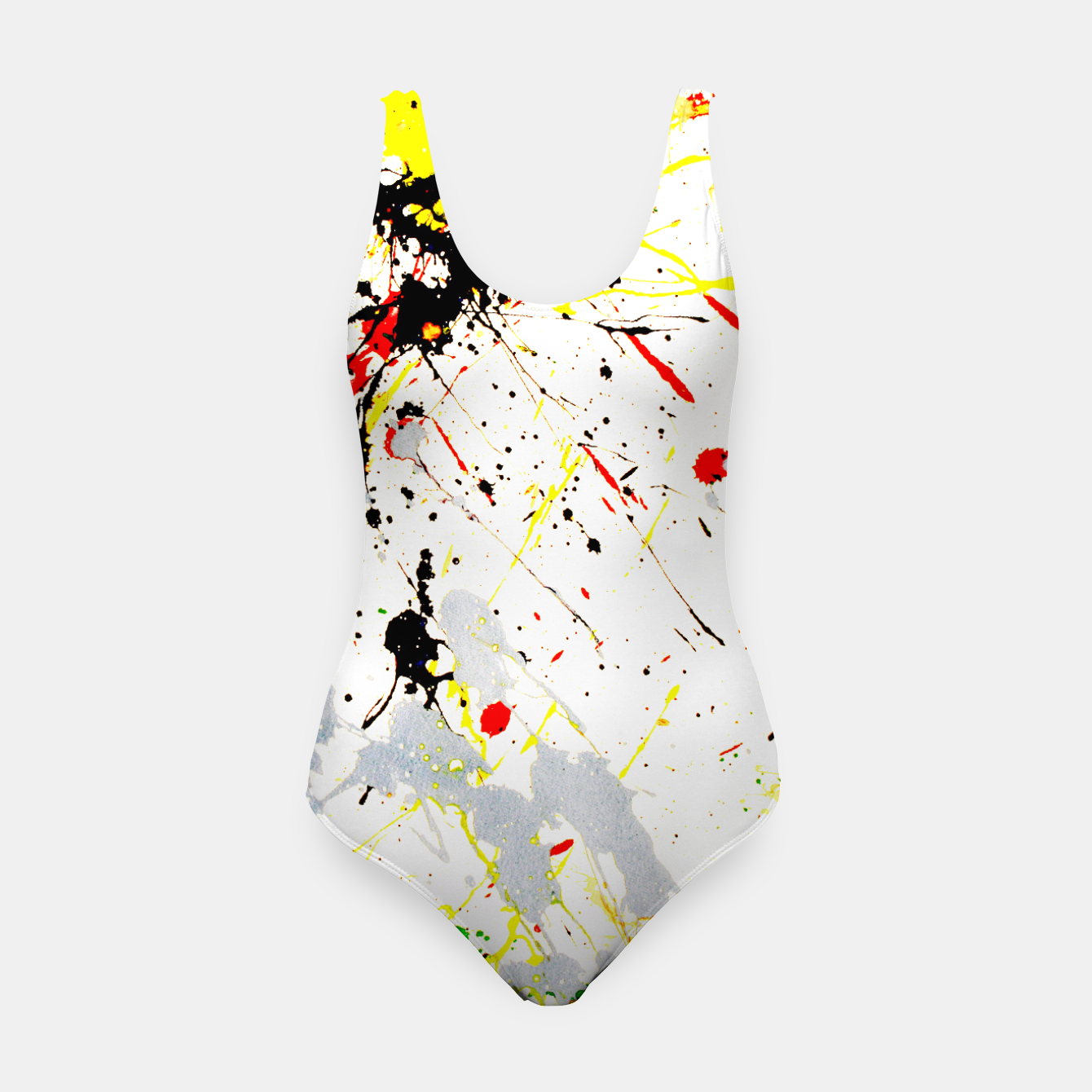 Image of Paint Splatter Swimsuit - Live Heroes