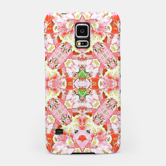 K196 Abstract Pink Flowers  Samsung Case thumbnail image