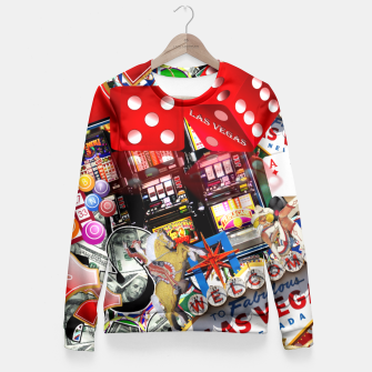 Gamblers Delight - Las Vegas Icons Fitted Waist Sweater thumbnail image