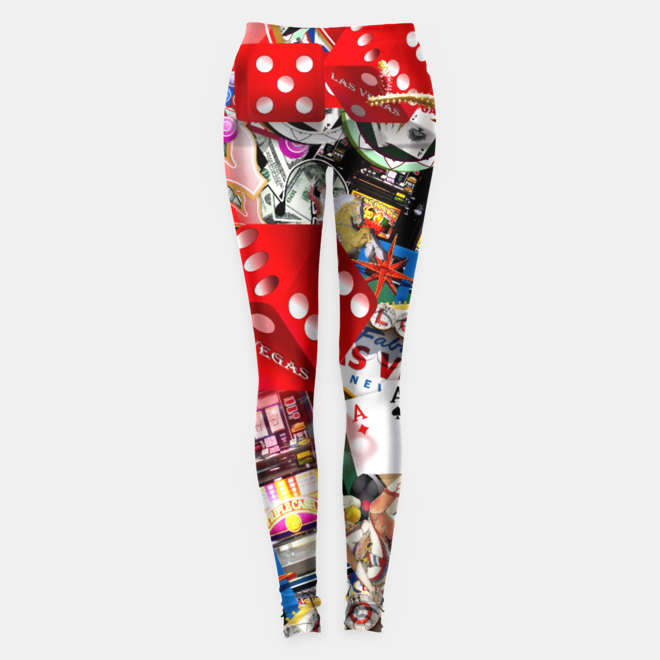 Image of Gamblers Delight - Las Vegas Icons Leggings - Live Heroes