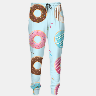 Thumbnail image of Donut pattern 006 Sweatpants, Live Heroes