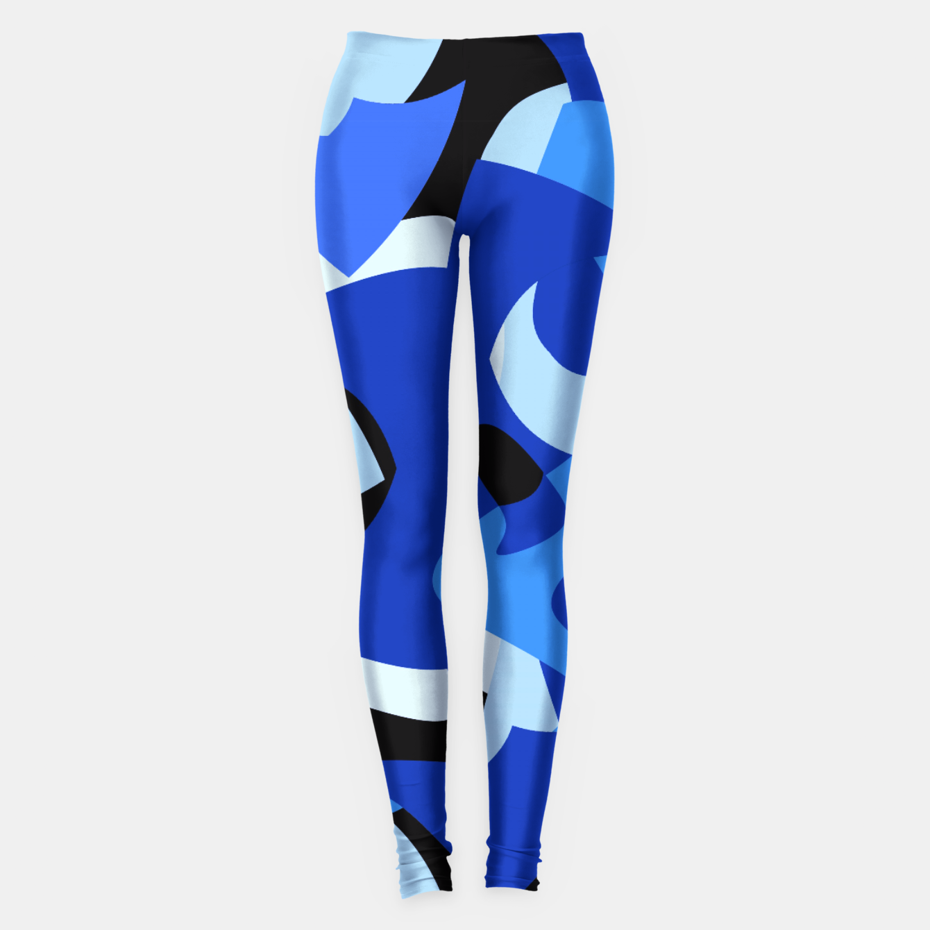 Image of A-201 Abstract Blues Combo   Leggings - Live Heroes