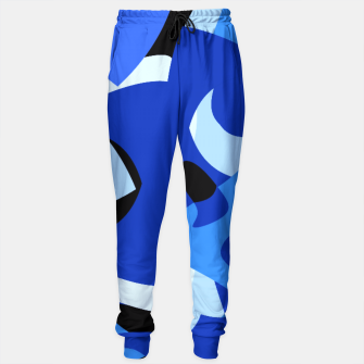 A-201 Abstract Blues Combo   Sweatpants thumbnail image