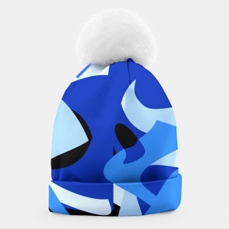 A-201 Abstract Blues Combo   Beanie thumbnail image