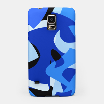 A-201 Abstract Blues Combo   Samsung Case thumbnail image