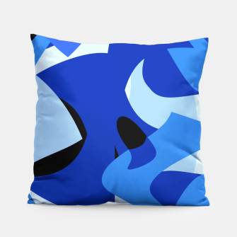 A-201 Abstract Blues Combo   Pillow thumbnail image