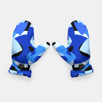 A-201 Abstract Blues Combo   Gloves thumbnail image