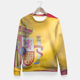 Miniatur Spain Fitted Waist Sweater, Live Heroes