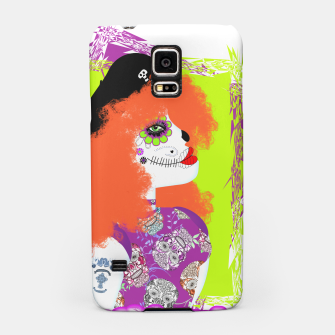 Thumbnail image of Day Of The Dead  Funky Red Head Samsung Case, Live Heroes