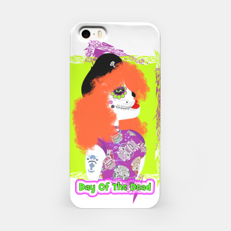 Thumbnail image of Day Of The Dead  Funky Red Head iPhone Case, Live Heroes