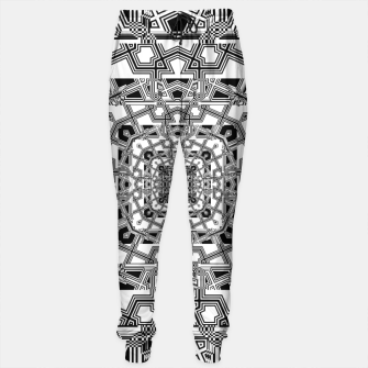 Thumbnail image of Tri Pattern Tunnel Flow Sweatpants, Live Heroes