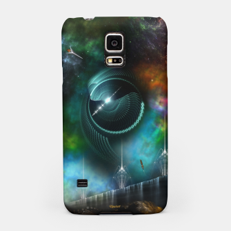 Thumbnail image of Flight Of The Corbius Samsung Case, Live Heroes