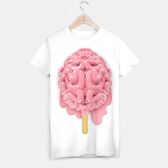Thumbnail image of Popsicle brain T-shirt, Live Heroes