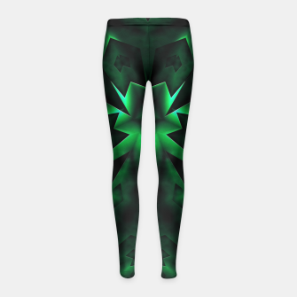 Thumbnail image of Levels Of Vision Girl's Leggings, Live Heroes