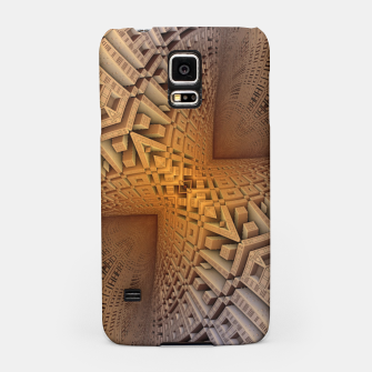 Thumbnail image of Golden Puzzle KM Blue Hue Samsung Case, Live Heroes