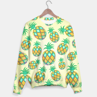 Thumbnail image of Pineapple Pastel Colors Pattern Sweater, Live Heroes
