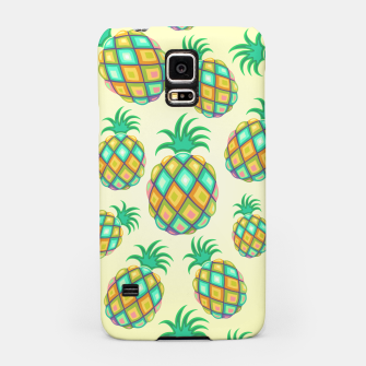 Pineapple Pastel Colors Pattern Samsung Case thumbnail image
