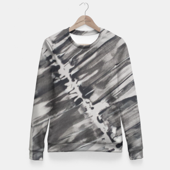 Thumbnail image of Ying-Yang Design - FF Art Fitted Waist Sweater, Live Heroes