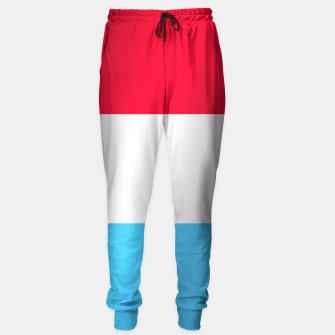 Thumbnail image of Flag of Luxembourg Sweatpants, Live Heroes