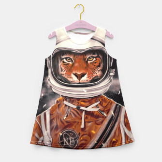 Thumbnail image of Tiger  Girl's Summer Dress, Live Heroes