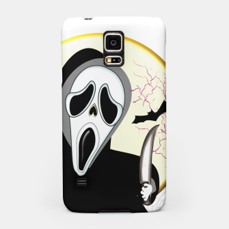 Thumbnail image of Screaming White Ghost Face Haunting Graphic Samsung Case, Live Heroes