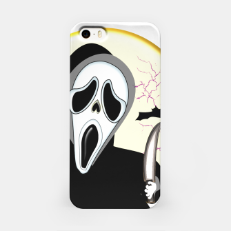 Thumbnail image of Screaming White Ghost Face Haunting Graphic iPhone Case, Live Heroes