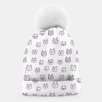 Miniaturka sketchy CATS Beanie, Live Heroes
