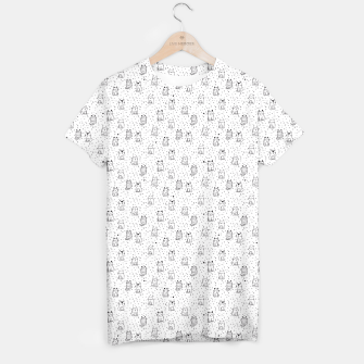 Thumbnail image of Adorable little cats T-shirt, Live Heroes