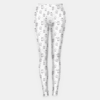 Thumbnail image of Adorable little cats Leggings, Live Heroes