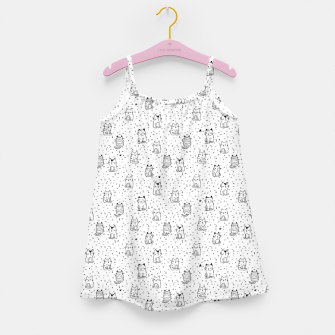 Miniaturka Adorable little cats Girl's Dress, Live Heroes