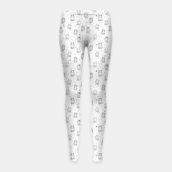 Thumbnail image of Adorable little cats Girl's Leggings, Live Heroes