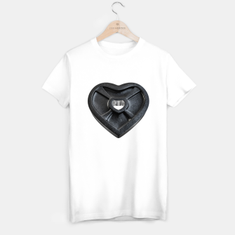 Thumbnail image of Lift With Your Heart T-shirt, Live Heroes