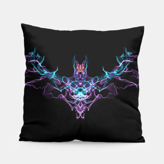 Thumbnail image of Bat Crazy Goth Art Pillow, Live Heroes