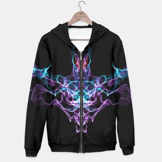 Thumbnail image of Bat Crazy Goth Art Hoodie, Live Heroes