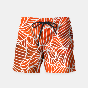 Thumbnail image of ptrn red Swim Shorts, Live Heroes