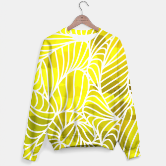 Thumbnail image of ptrn yellow Sweater, Live Heroes