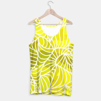 Thumbnail image of ptrn yellow Tank Top, Live Heroes