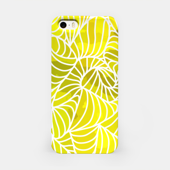 Thumbnail image of ptrn yellow iPhone Case, Live Heroes