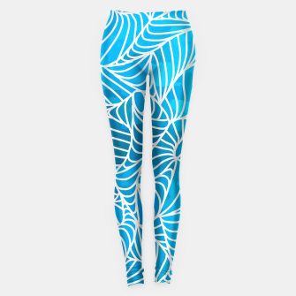 Thumbnail image of ptrn blue Leggings, Live Heroes