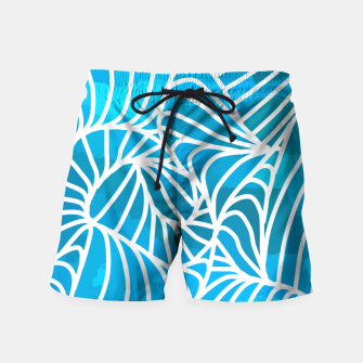 Thumbnail image of ptrn blue Swim Shorts, Live Heroes