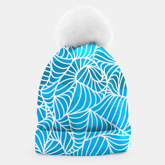 Thumbnail image of ptrn blue Beanie, Live Heroes