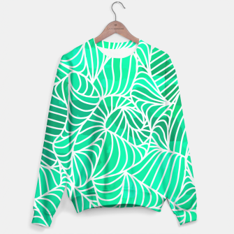 Thumbnail image of ptrn green Sweater, Live Heroes