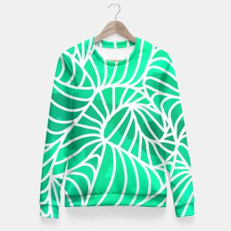 Thumbnail image of ptrn green Fitted Waist Sweater, Live Heroes