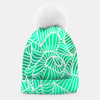 Thumbnail image of ptrn green Beanie, Live Heroes